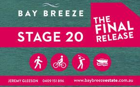 Bay Breeze Estate Stage 20