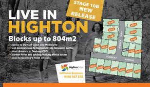 Highton Ridge Stage 10B