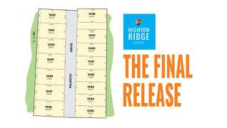 Highton Ridge Stage 10C